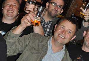 Stewart Perkins at a Dredd screening last year. Photo: Tony Richards