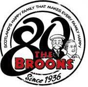 The Broons 80th Anniversary Logo