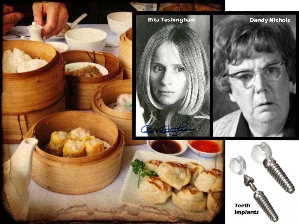 Eagle Daze 10: Chinese food, Rita Tushingham and Dandy Nichols
