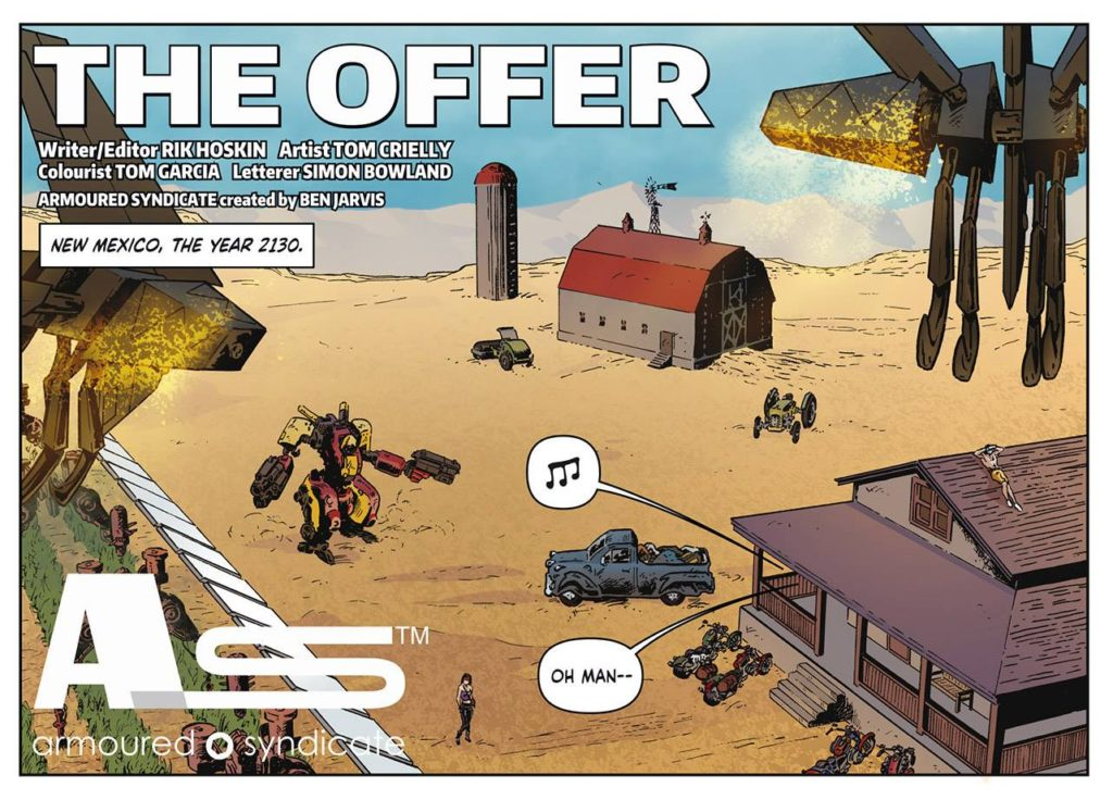 Armoured Syndicate: The Offer © Megaton
