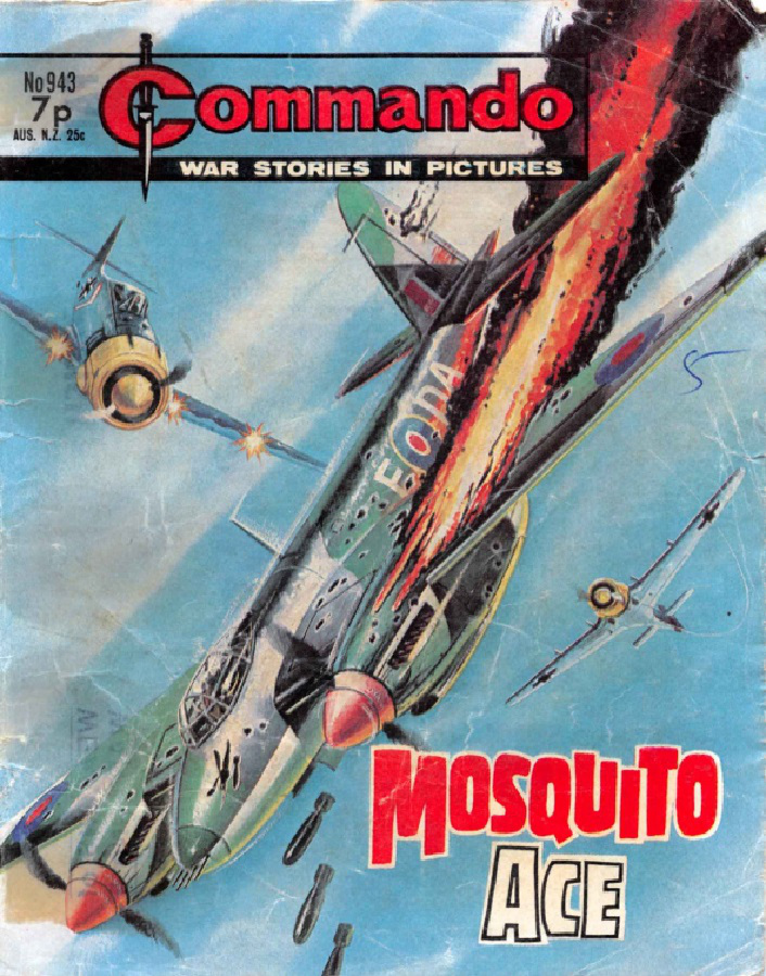 Commando Issue 943 - Mosquito Ace