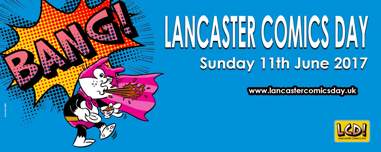 Lancaster Comics Day 2017 Promotional Art