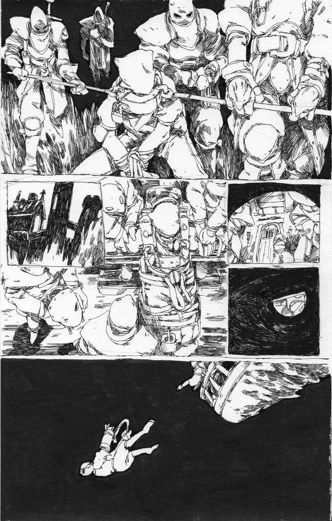 Sample art from Nevera Tales