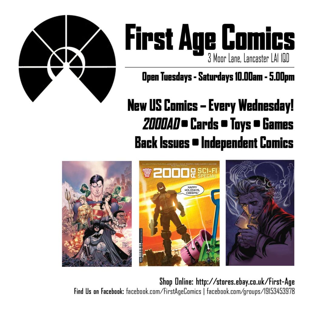 First Age Comics Promo - 18 July 2016