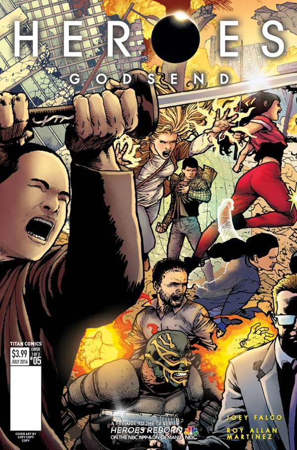 Heroes: Godsend #5 - Cover A