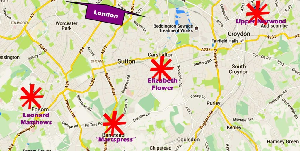 South Norwood and environs