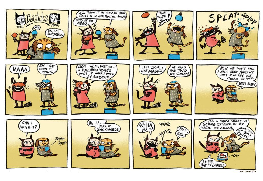 Moose Kid Comics Issue Three - Viv Schwarz
