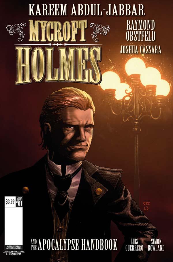 Mycroft Holmes SDCC 2016 Cover