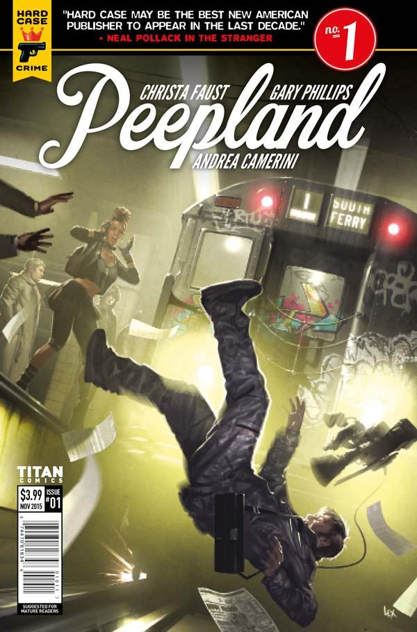 Peepland #1 Cover C: Alex Ronald