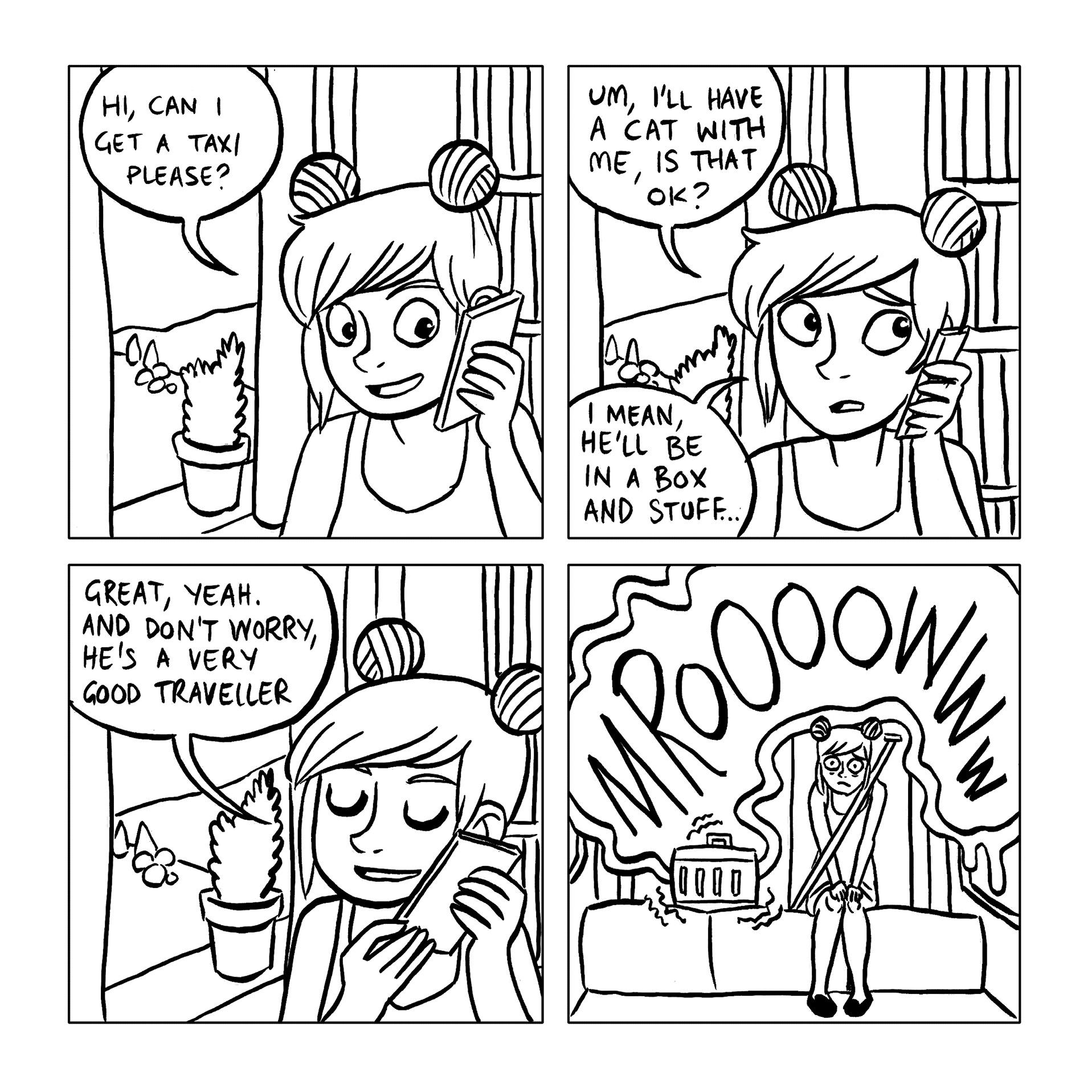 Rachael Smith Diary Comic Sample