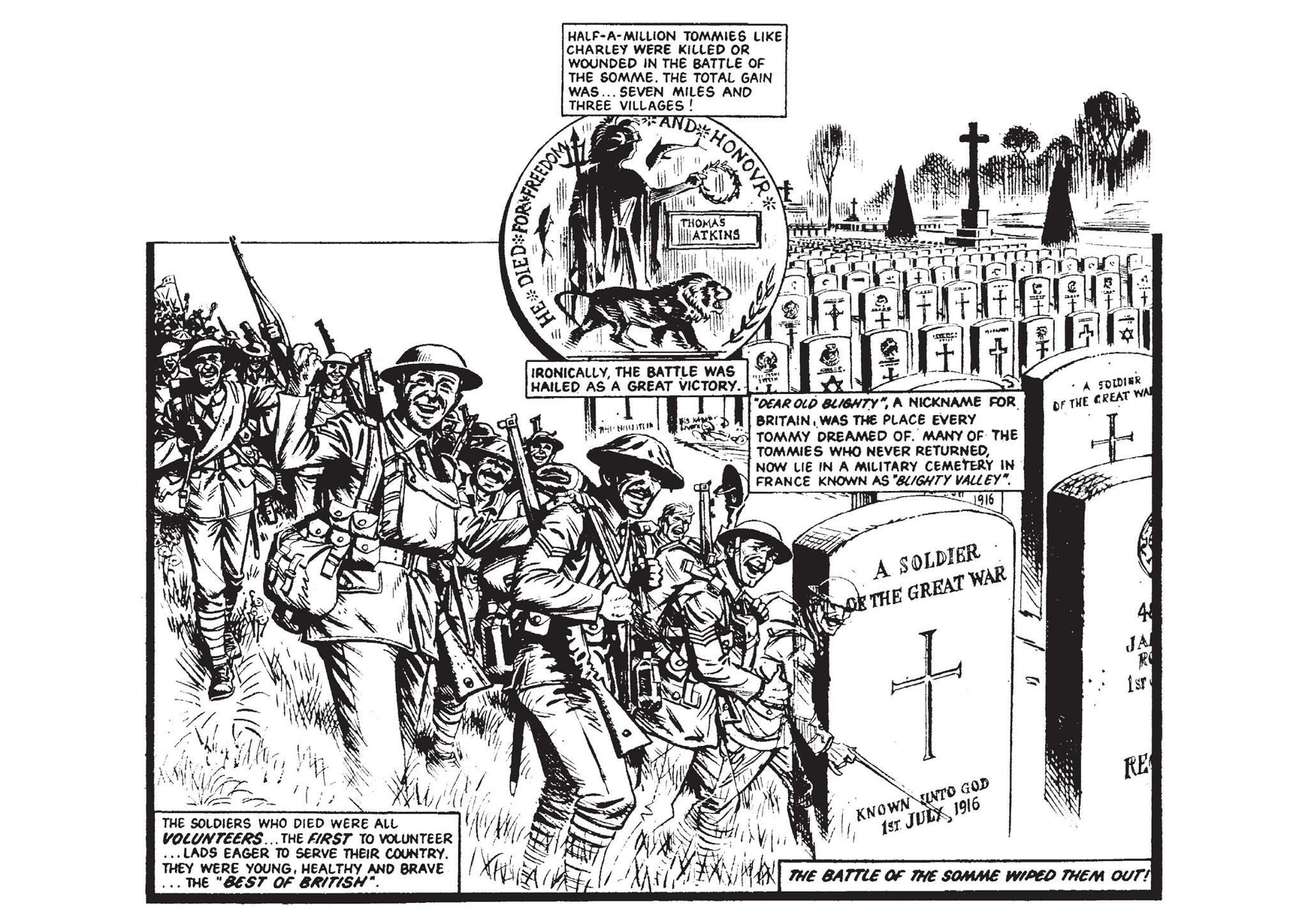 Charley's War by Pat Mills and Joe Colquhoun