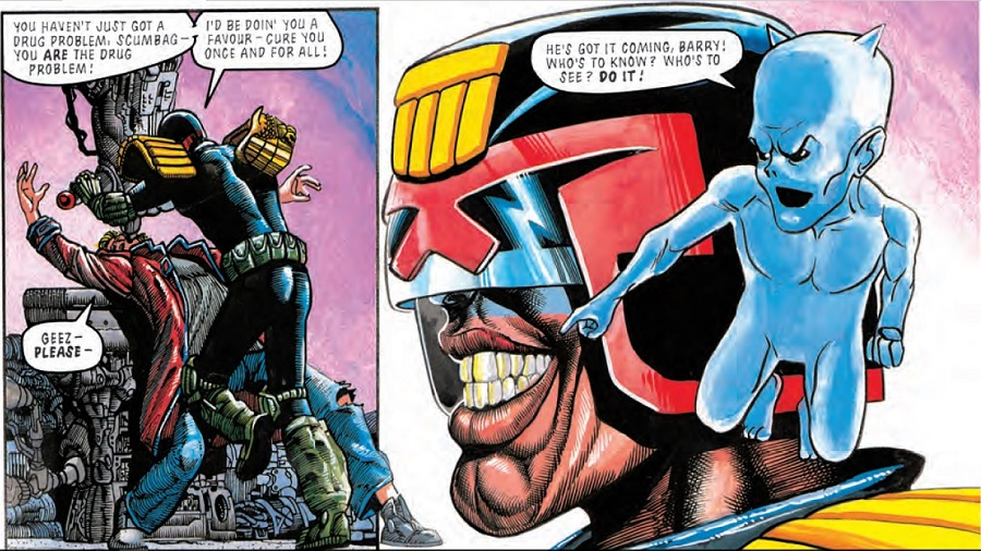 Judge Dredd: Crazy Barry Little Mo