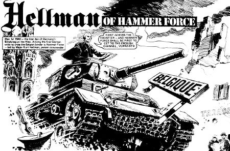 Inside Action - Hellman of Hammer Force