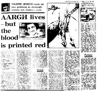 The Evening Standard: Argh Lives