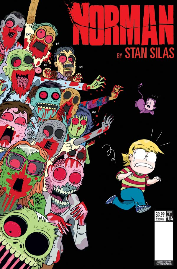 Norman #4 - Cover A