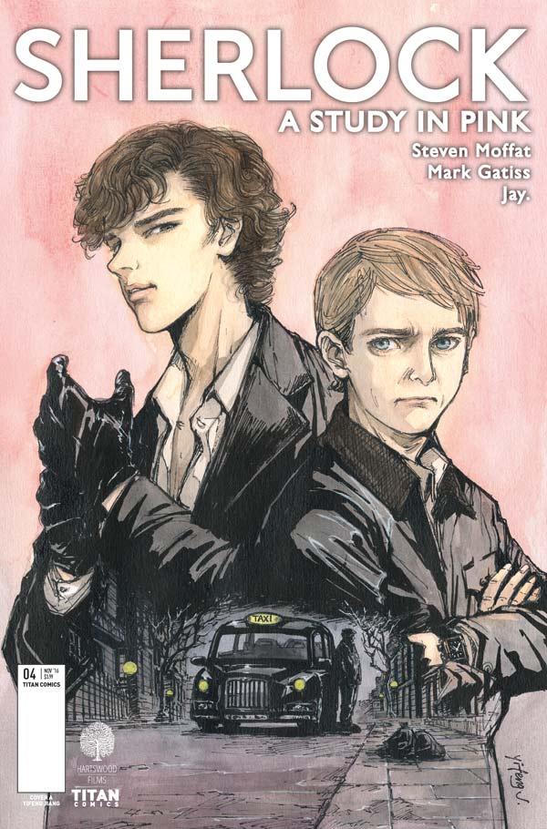 Sherlock #4 - Cover A