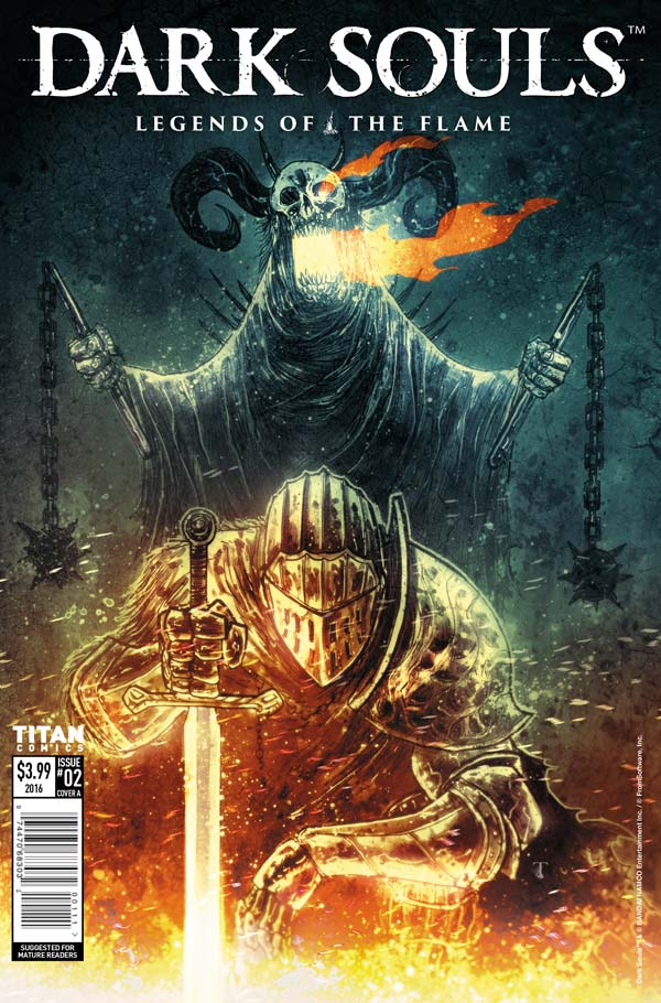 Dark Souls: Legends of the Flame #2 - Cover A