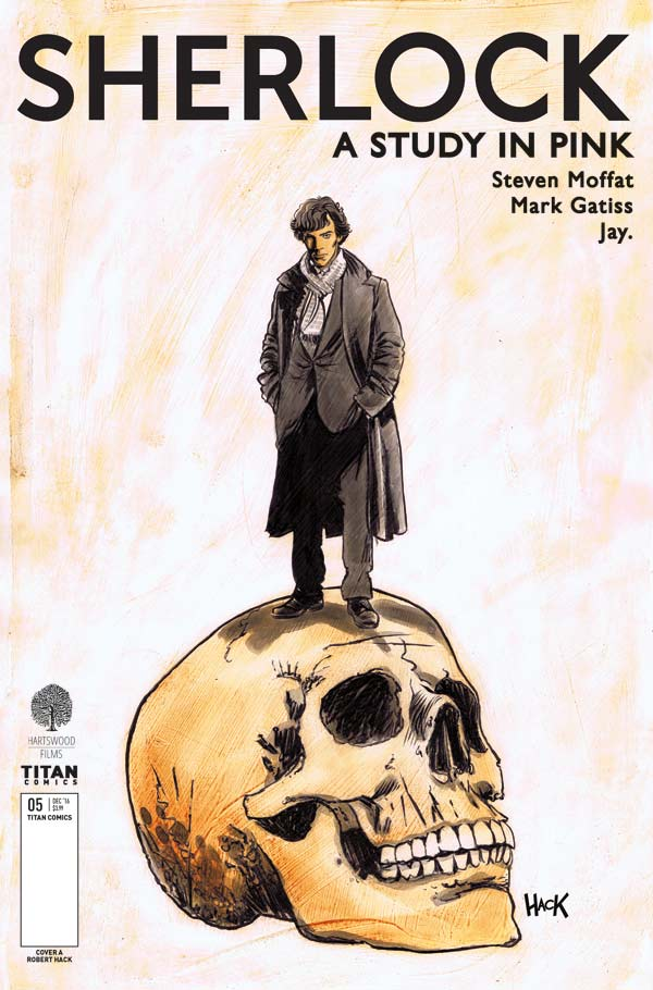 Sherlock A Study In Pink #5 (Of 6) - Cover A