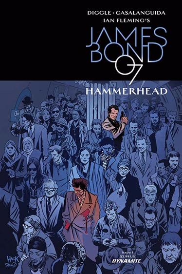 James Bond - HammerHead #1 - Cover