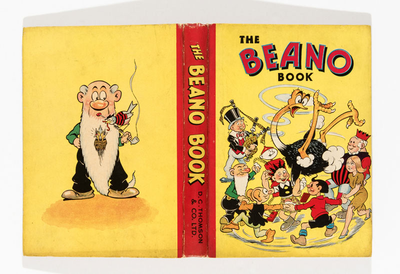 Beano Book Number 3 (1942). Big Eggo is in a spin!