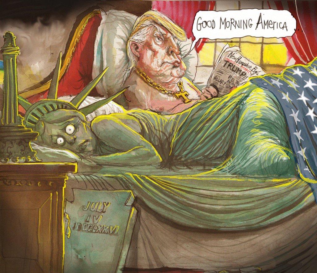 Good Morning America by David Rowe