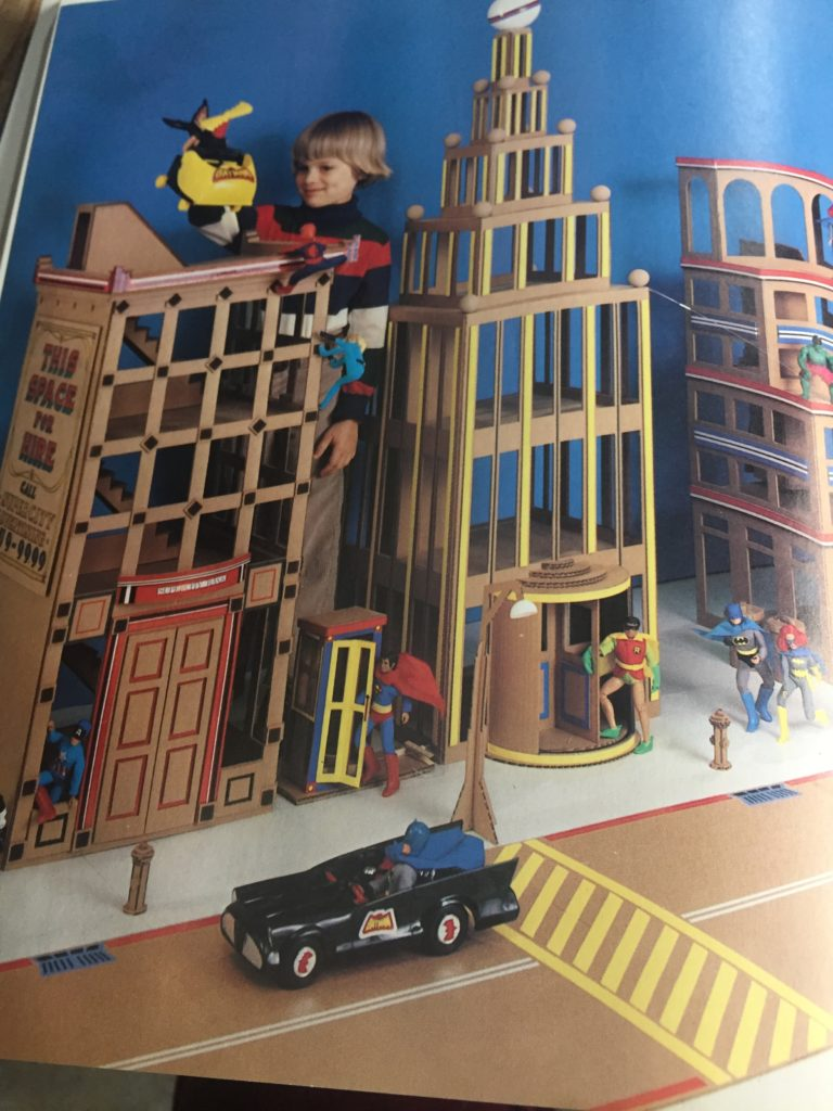 Woman's Day Book of Best-loved Toys and Dolls - Super Hero City