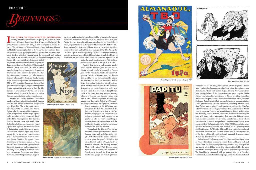 Masters of Spanish Comic Book Art P4 - 5