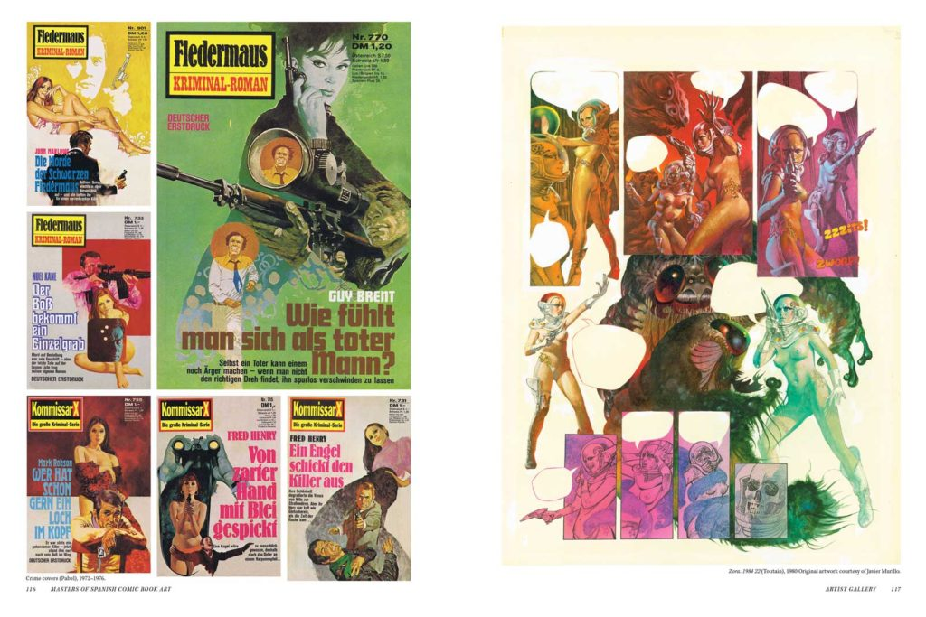 Masters of Spanish Comic Book Art P116-117