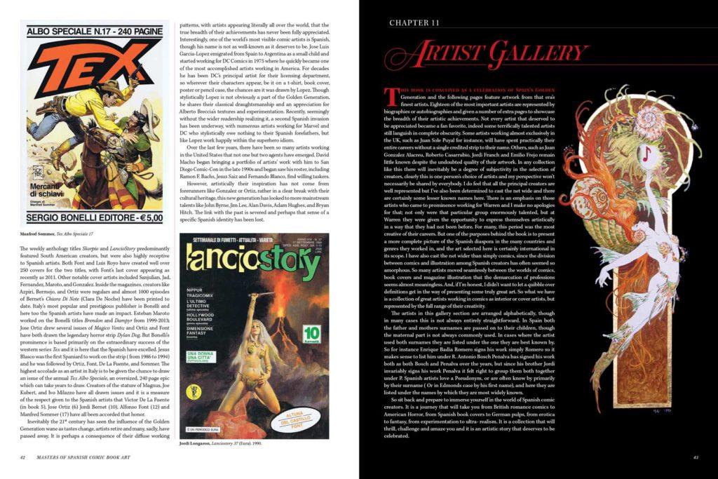 Masters of Spanish Comic Book Art P42-43