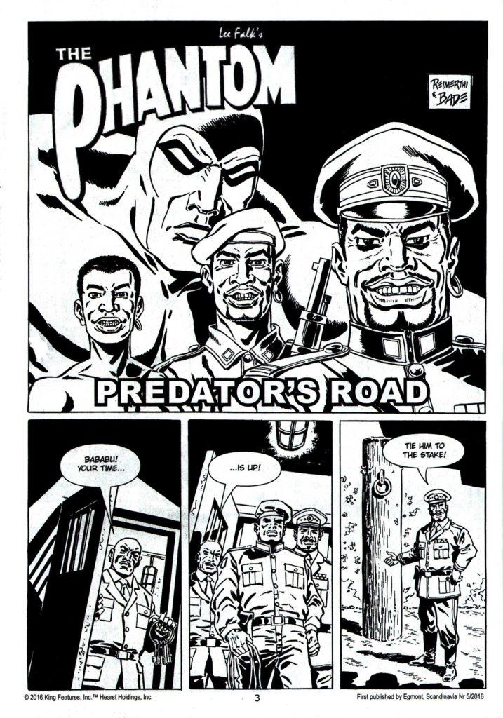 The Phantom 1767 - Predator's Road S1
