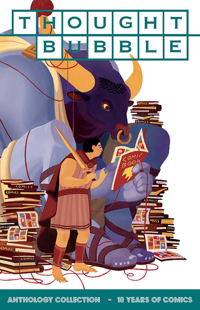 ThoughtBubble Anthology 2016 - Cover