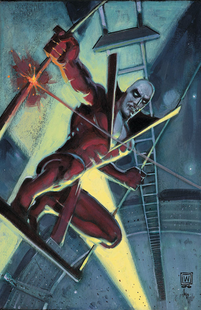 Only Deadman #4 - Cover Art by John Watkiss