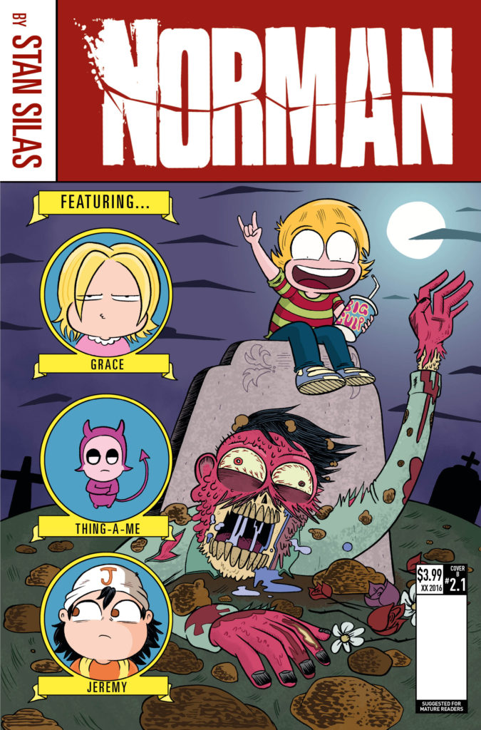 Norman: The First Slash #1 - Cover A