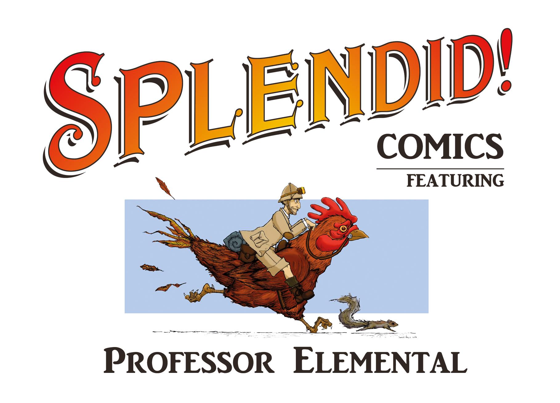 Splendid Comics - Professor Elemental