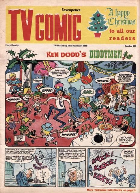 TV Comic Issue 889