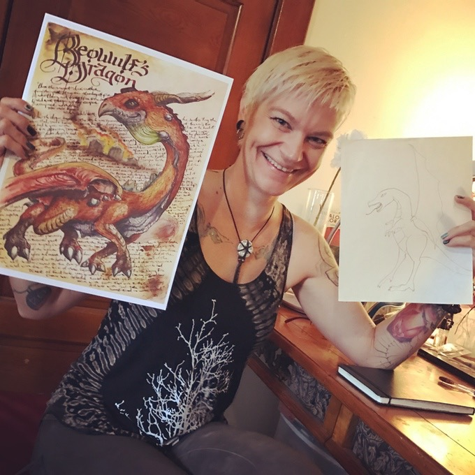 Artist and writer Bambi Wendt