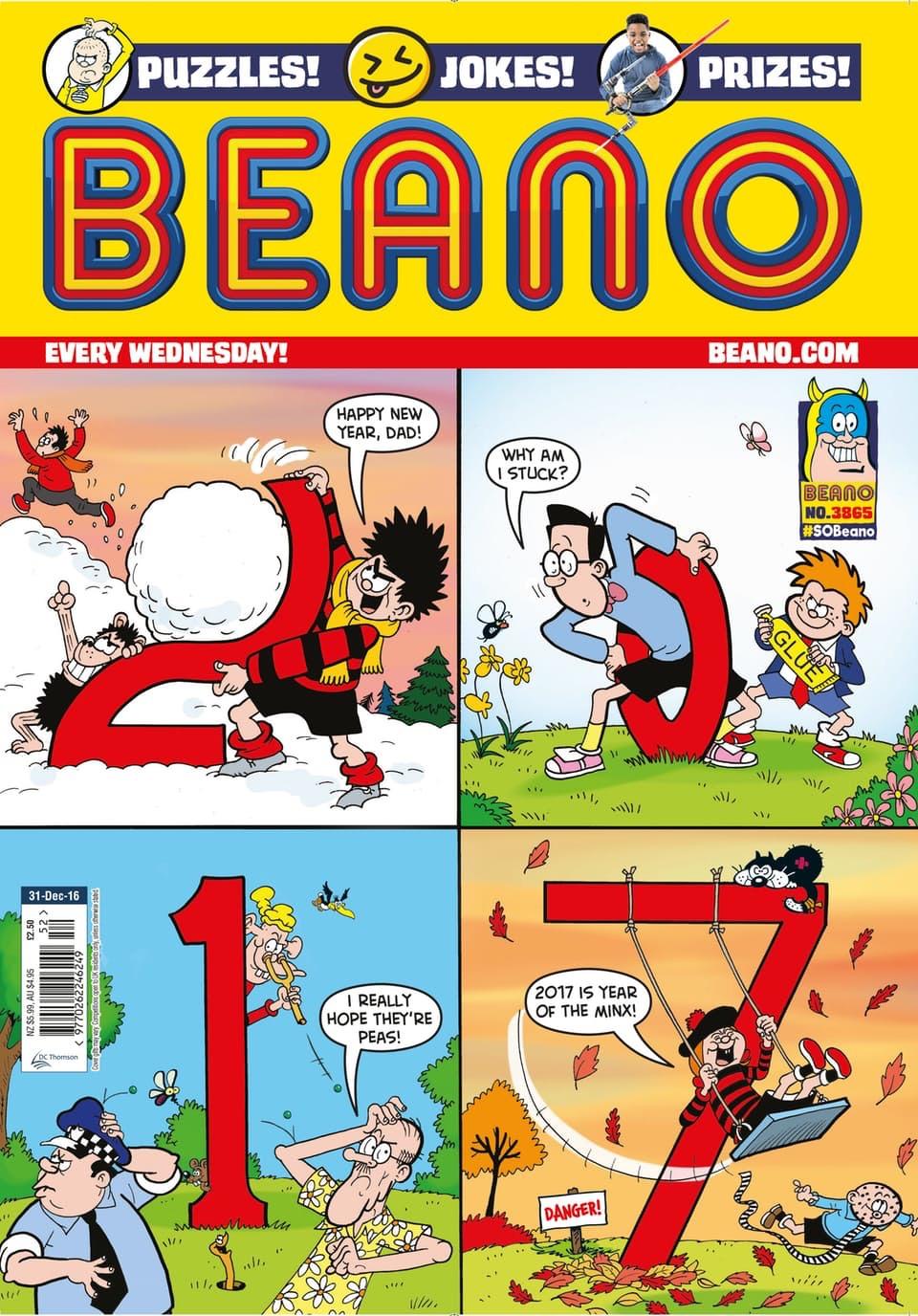 Beano 3865 - Cover