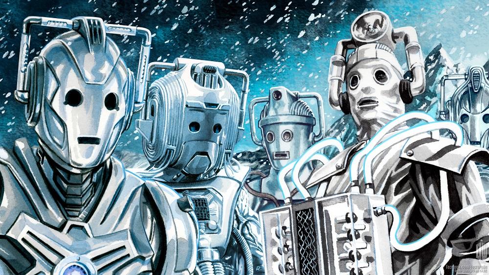 Cybermen by Graeme Neil Reid