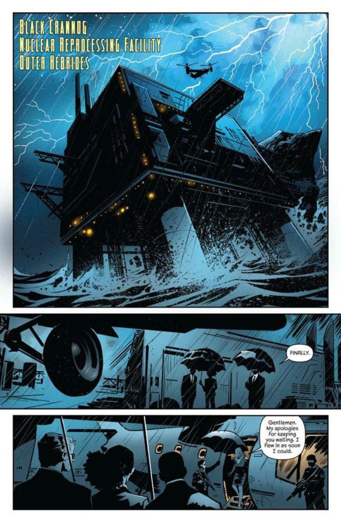 James Bond - Hammerhead #4 - Page 1