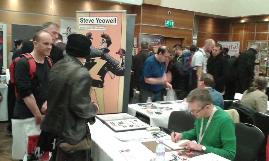 Steve Yeowell. Photo: Richard Sheaf