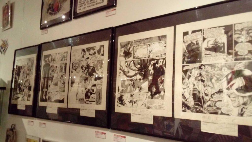 Beyond 2000AD - Orbital Comics 2017 - Wall 2