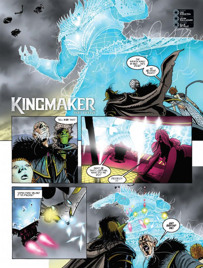 2000AD 2022 - Kingmaker
