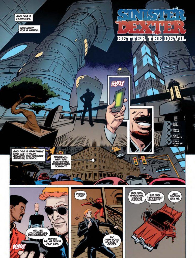 2000AD 2022 - Sinister Dexter: Better The Devil