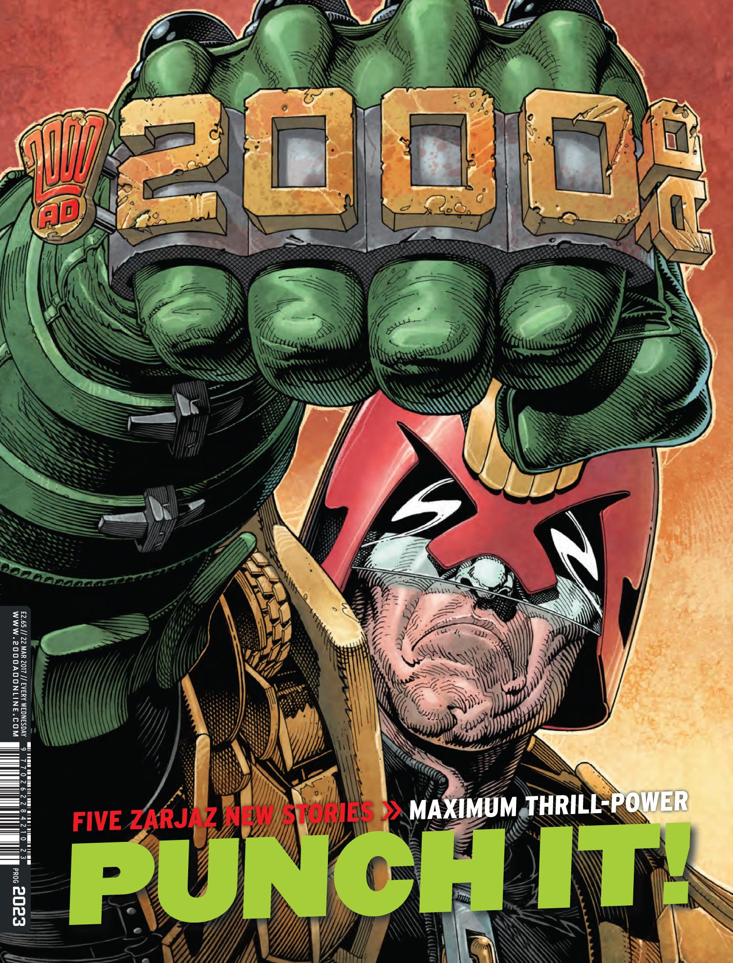 2000AD Prog 2023 - Cover