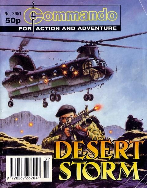 Commando 2951 - Desert Storm