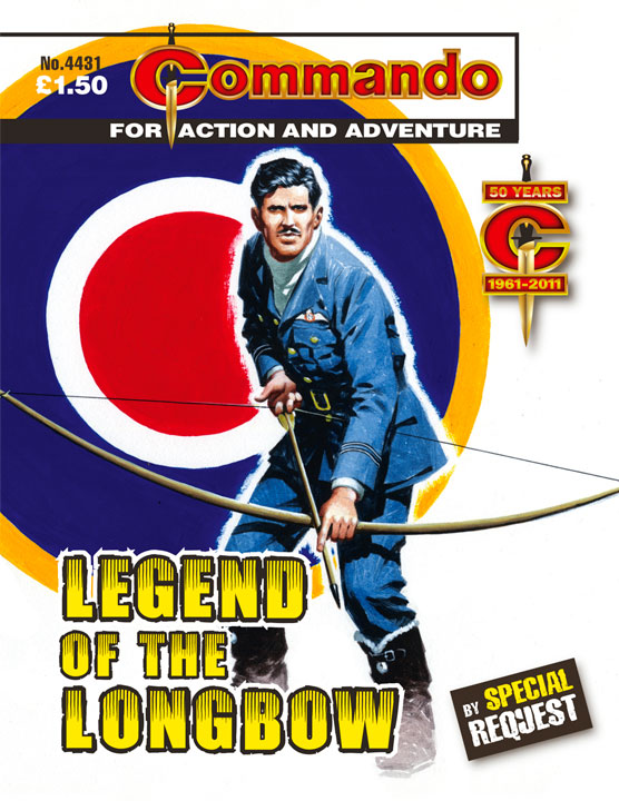 Commando 4431 September 2011 'By Special Request' reprint of issue 1354 September 1979 - cover art by Ian Kennedy