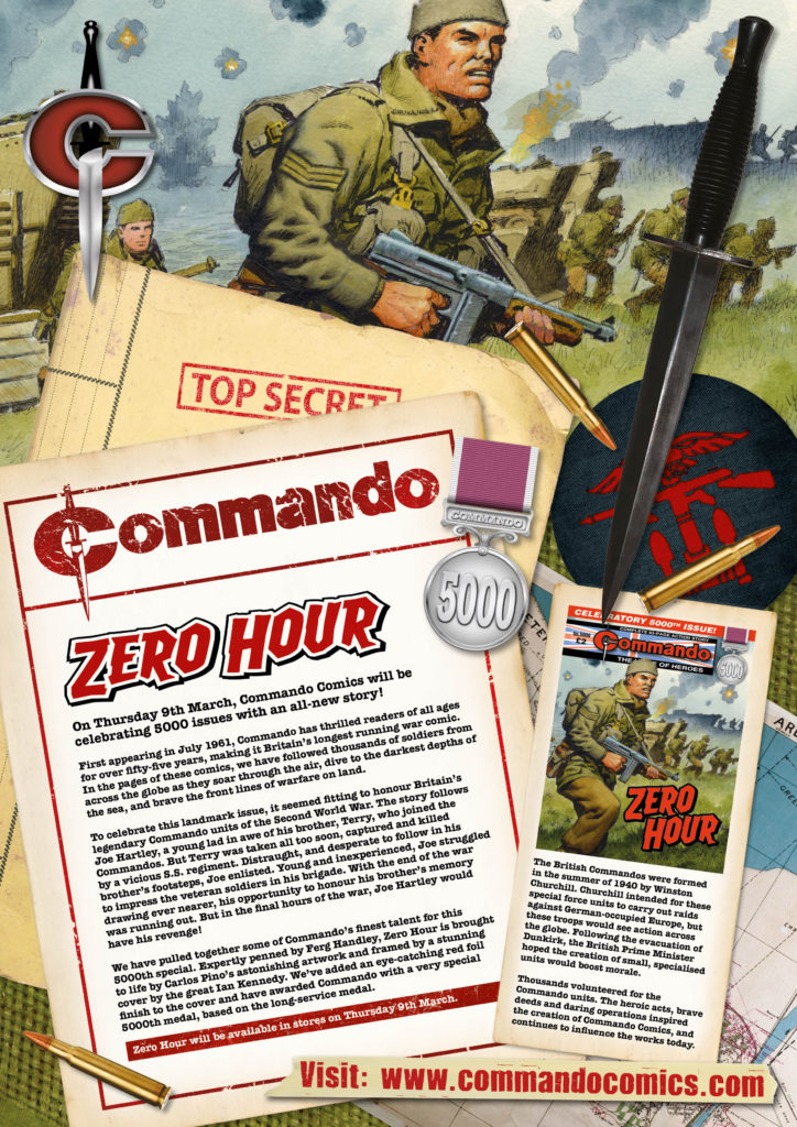 Commando 5000 – Zero Hour Introduction