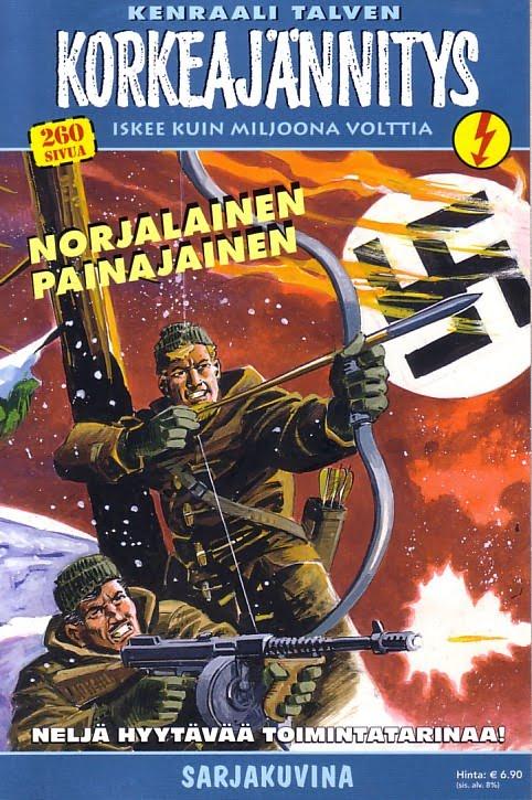 Korkeajannitys - Commando Korkea Front