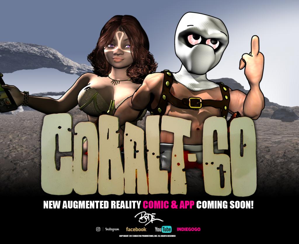 Cobalt 60 Augmented Graphic Novel Promotion