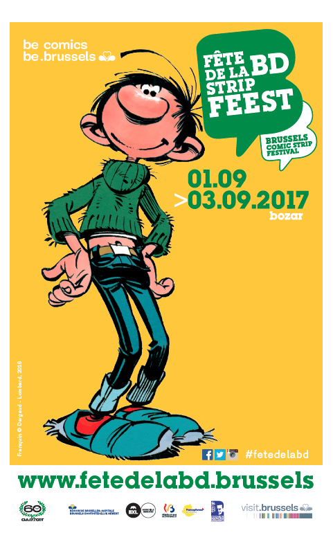 Brussels Comic Strip Festival 2017